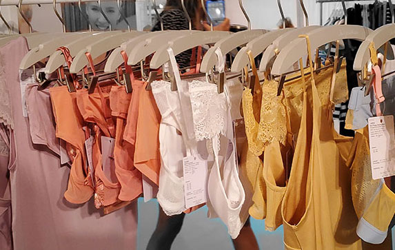 Mey as seen at Curve NY for Spring 2020 as featured on Lingerie Briefs