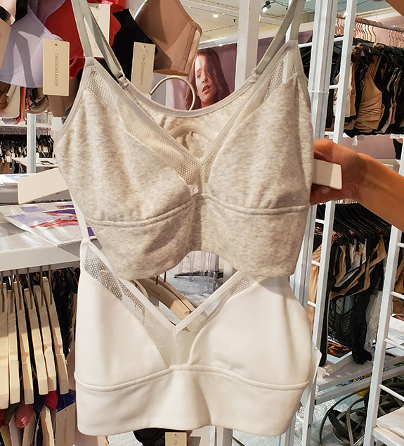 On Gossamer as seen at Curve NY for Spring 2020 as featured on Lingerie Briefs
