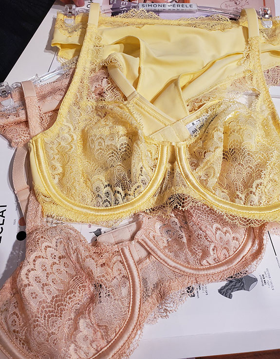 Simone Perele as seen at Curve NY for Spring 2020 as featured on Lingerie Briefs