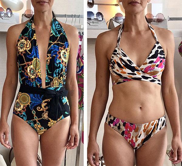 Trina Turk swimwear as featured on Lingerie Briefs