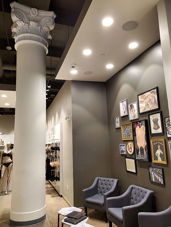 Luxury Lingerie Rigby and Peller Boutique in NYC as featured on Lingerie Briefs