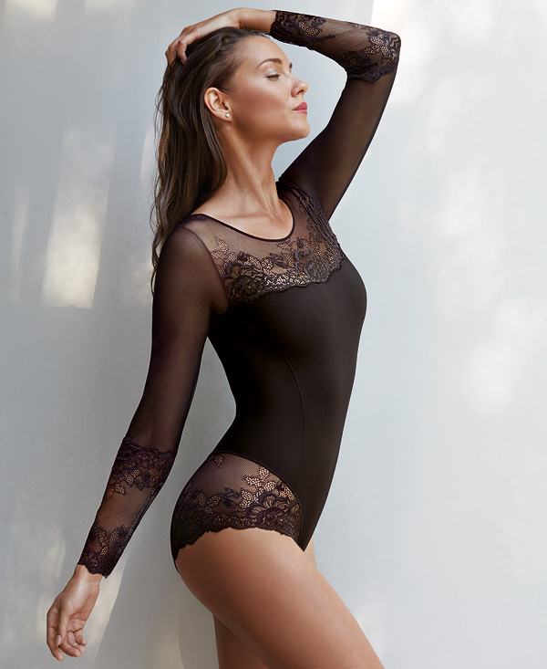 Janira Greta Sensual Bodysuit featured on Lingerie Briefs