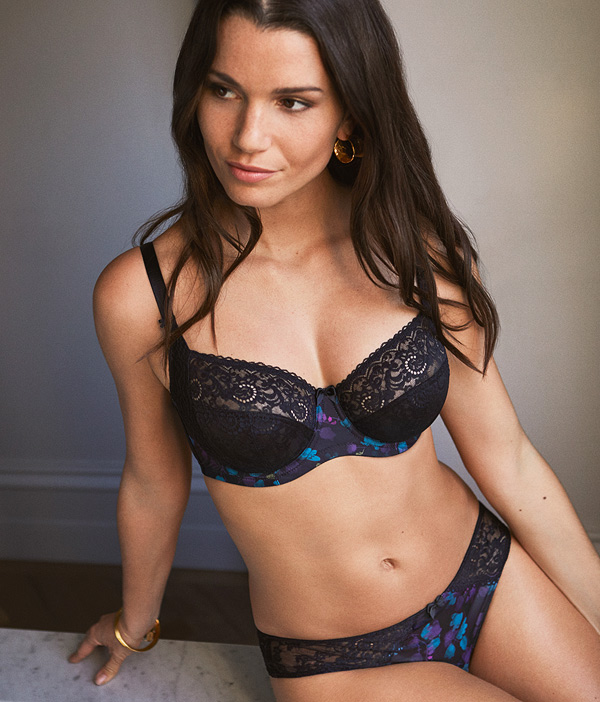 New from Panache is the Amelie full-cup bra - featured on Lingerie Briefs