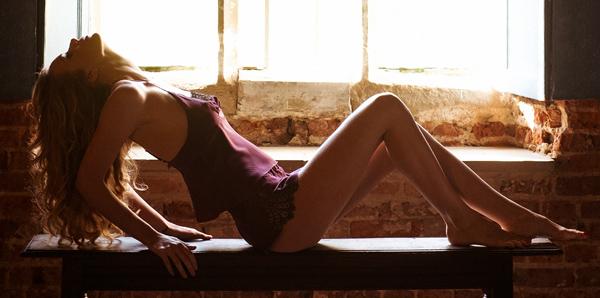 Emma Harris' Renee Blackberry Cami & Shorts featured on Lingerie Briefs