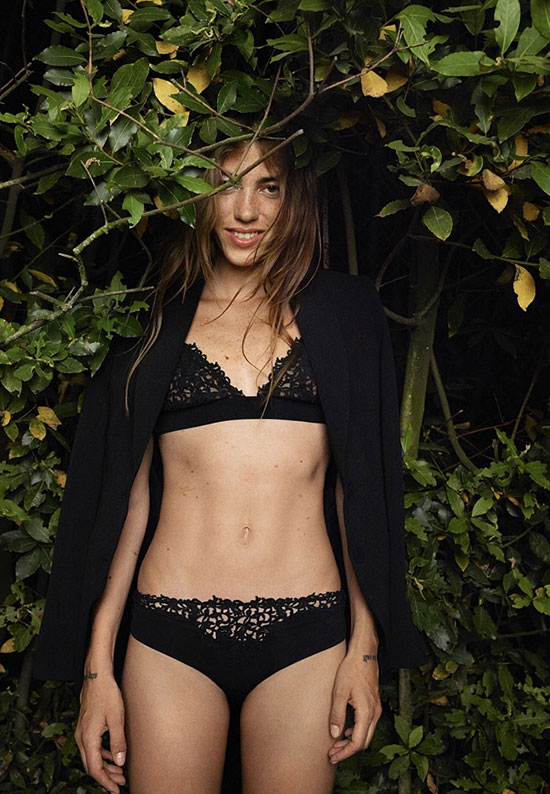 La Perla 65th anniversary campaign by Alison Connolly for Lingerie Briefs