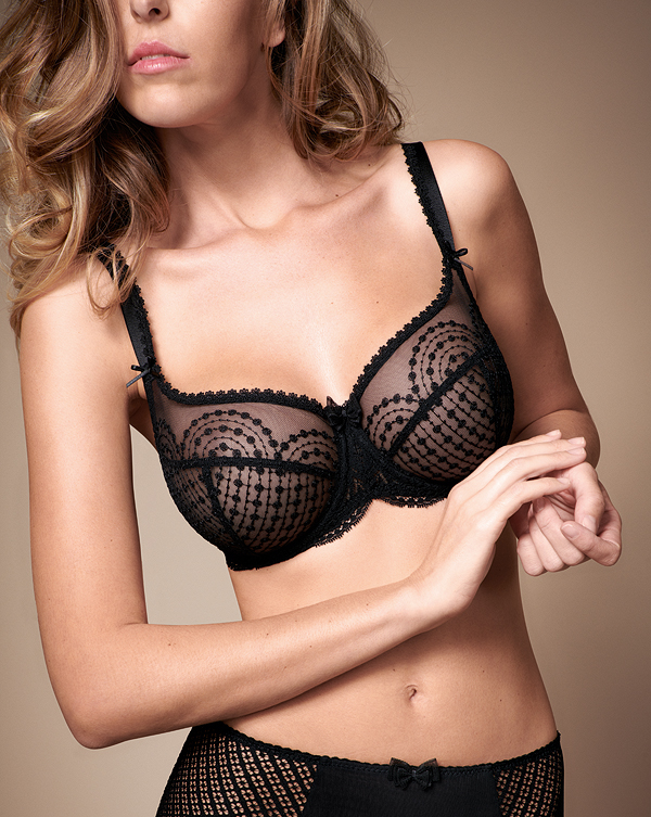 Empreinte Norah bra in black featured on Lingerie Briefs