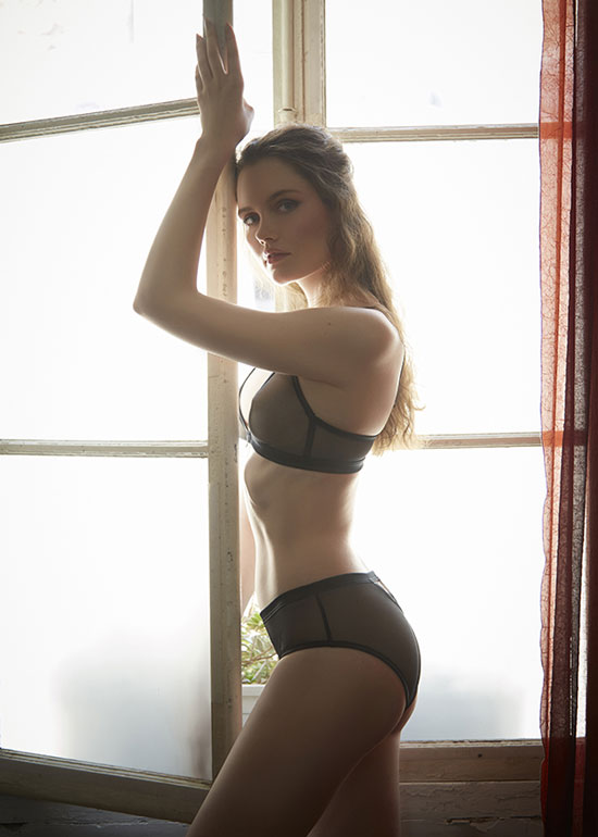 Paloma Casile Lingerie photographed by Stephanie Hynes Photography for Lingerie Brief