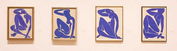 Matisse Cut Outs from the MOMA as seen on Lingerie Briefs
