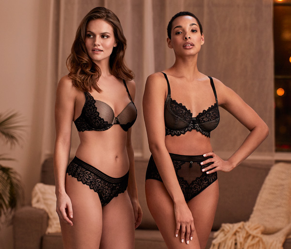 Montelle Midnight Romance Absolute Bra and Fashion Devine Bra featured on Lingerie Briefs
