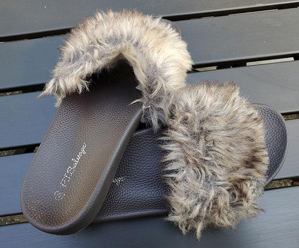 PJ Salvage slippers