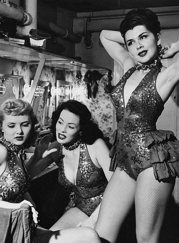 1950s Showgirls