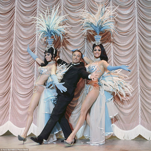 Gene Kelly in the Folies Bergere, 1970s
