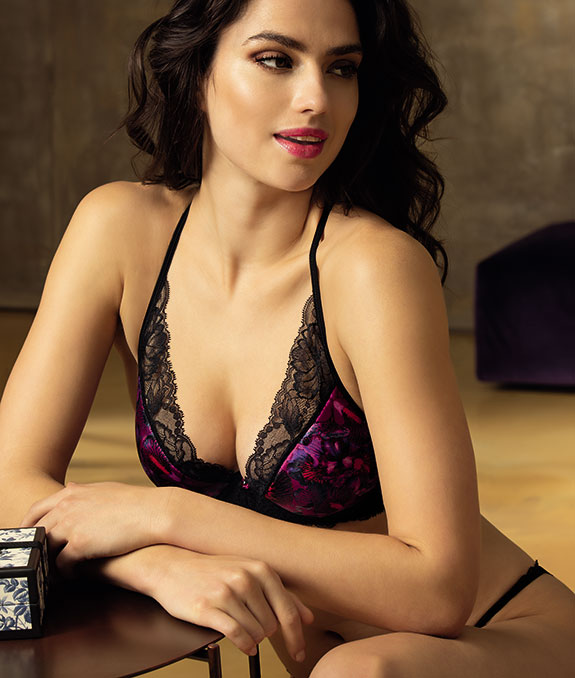 Lise Charmel Soir En Soie Collection underwire bralette as featured on Lingerie Briefs