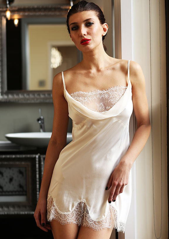 Helen Sanchez Bridal Lingerie As featured on Lingerie Briefs