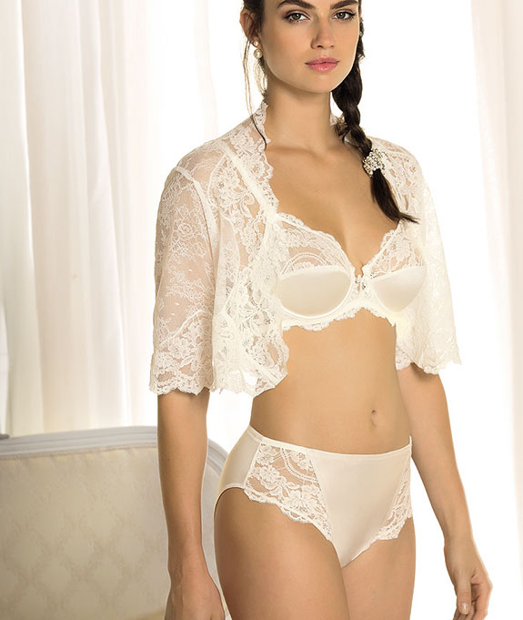 Lise Charmel Bridal Lingerie As featured on Lingerie Briefs