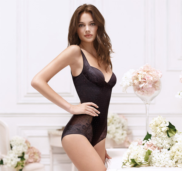 sexy and supportive Janira Secrets Shapewear - One piece Body shaper featured on Lingerie Briefs
