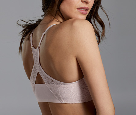 Le Mystere Welcomes the Natural Comfort Racerback Bra