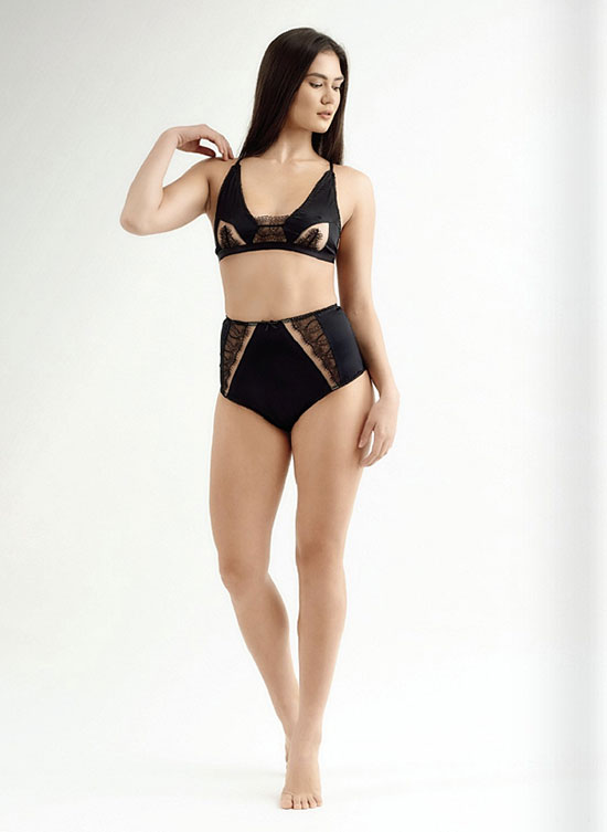 Ame Nue fine Lingerie made in Australian as featured on Lingerie Briefs