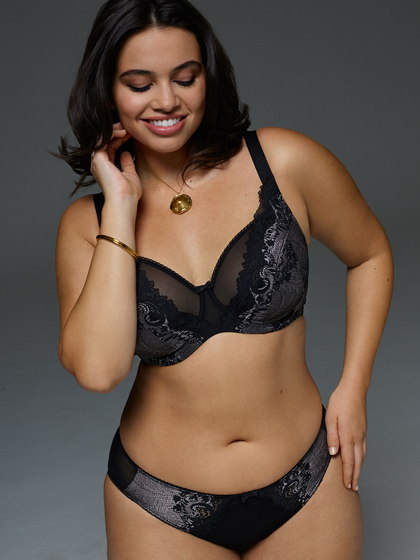 Panache new style Katya. This high apex bra is party perfect - featured on Lingerie Briefs