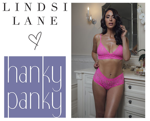 Lindsi Lane + Hanky Panki So Lindsi Collection as featured on Lingerie Briefs