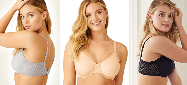 Wacoal introduces the Ultimate Side Smoother Underwire Bra, featured on Lingerie Briefs