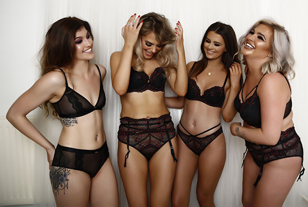 Lucy May Lingerie exudes exquisite design, beautiful fit and exceptional quality as featured on Lingerie Briefs