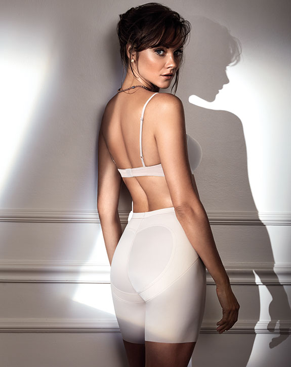Sweet Contour, Janira's soft shaping shorts with rear lift - featured on Lingerie Briefs