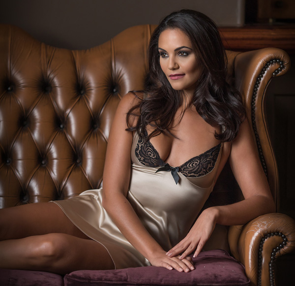 Signature was the first collection designed by Emma Harris perfect for the holidays - featured on Lingerie Briefs