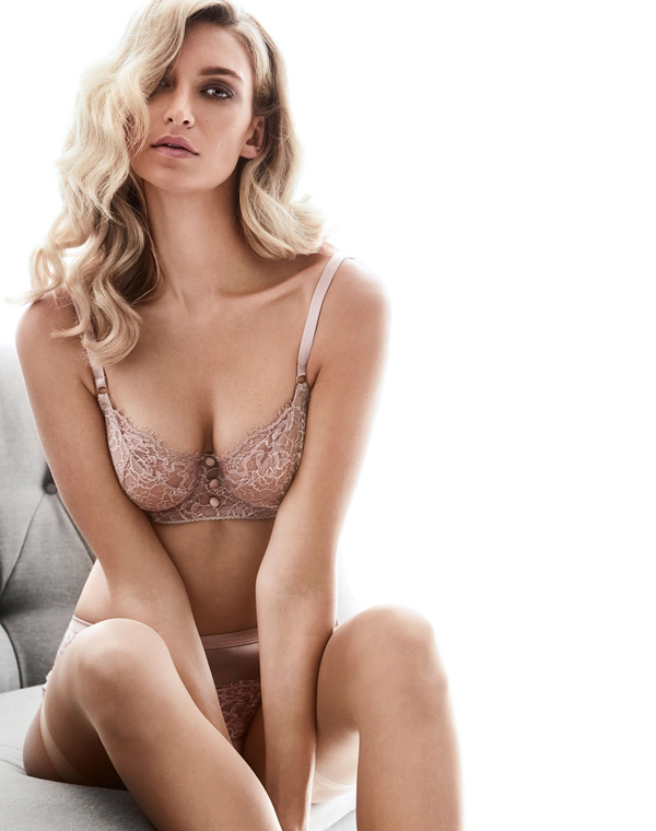 Katherine Hamilton's SS20 Abbie lingerie collection featured on Lingerie Briefs
