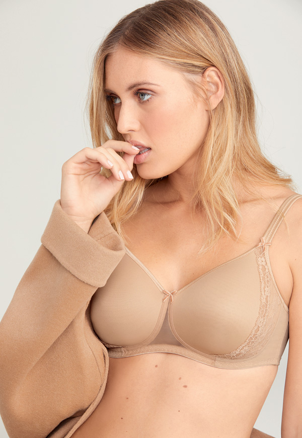 Anita's Rosa Faia Lace Rose (5618) is adding the neutral color desert and expanding sizes - featured on Lingerie Briefs