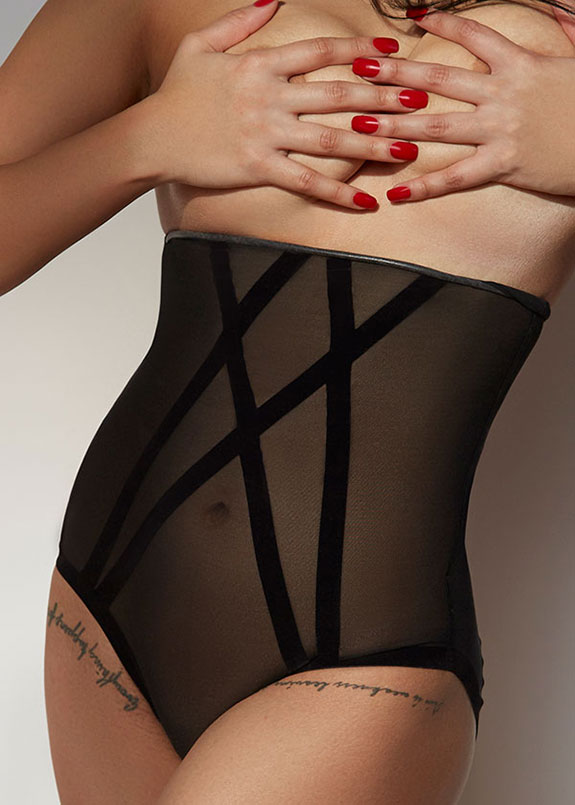 Wolford Shapewear photographed by Stephanie Hynes for Lingerie Briefs