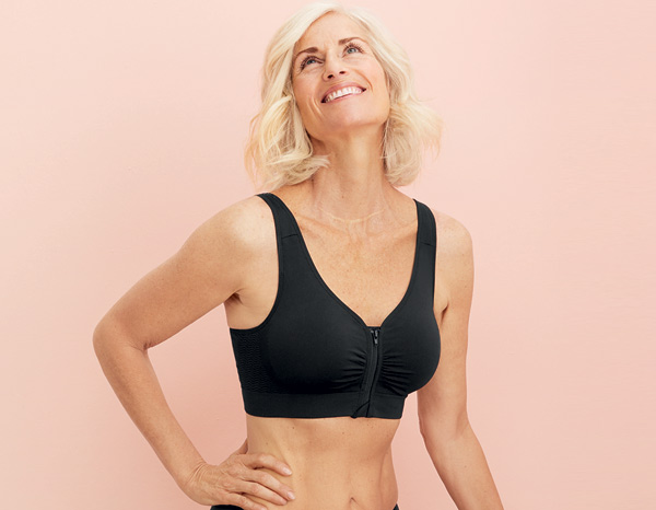 Anita Care LYNN Post-mastectomy bra - front zip - featured on Lingerie Briefs