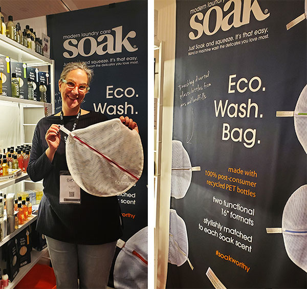 Soak sustainable lingerie wash as featured on Lingerie Briefs
