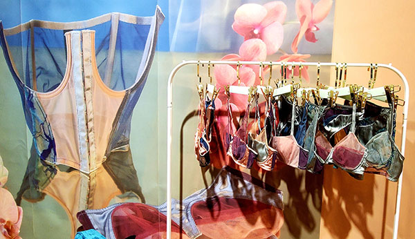 Voiment lingerie 2020 F/W Lingerie featured at Salon International de la Lingerie in Paris as seen on Lingerie Briefs