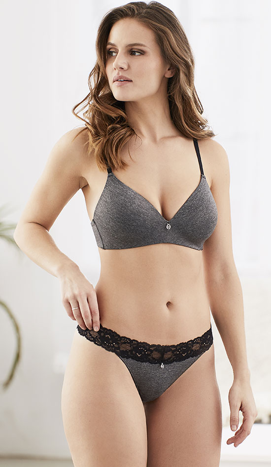 "Montelle Intimate's ""Above the Waist"" Teleconference Bra"