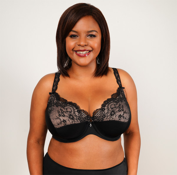 """Curvy Couture """"Tulip Push Up Bra' """"My Breasts Never Looked Sooo Good! Featured on Lingerie Briefs. Featured on Lingerie Briefs"""