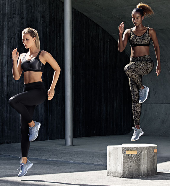 Anita Active Sports Bras and Leggings as Featured on Lingerie Briefs