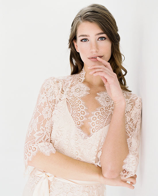 Girl With A Serious Dream bridal robes as featured on Lingerie Briefs