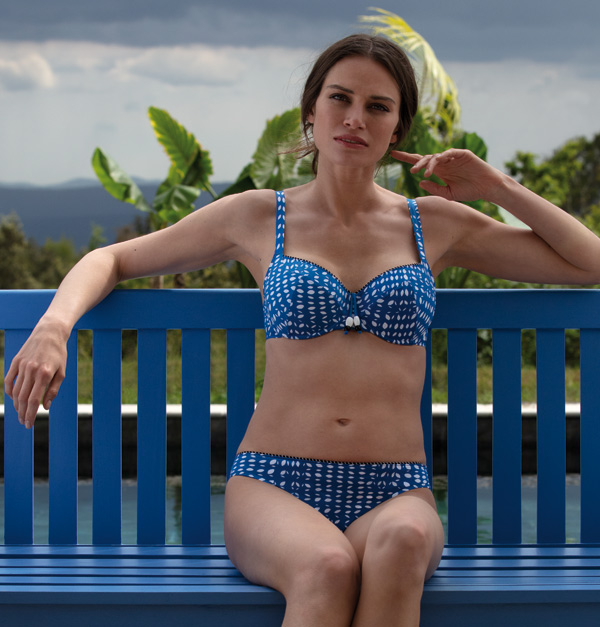 Empreinte 2020 Swimwear - Happy Collection in geometric prints - featured on Lingerie Briefs