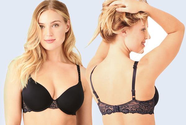 Wacoal's LEVEL UP LACE T-shirt Bra - featured on Lingerie Briefs