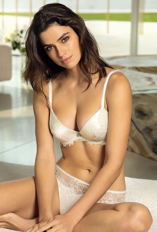 Lise Charmel Precieux Diademe bridal collection silk as featured on Lingerie Briefs