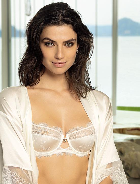 Lise Charmel Precieux Diademe bridal collection balconet bra as featured on Lingerie Briefs