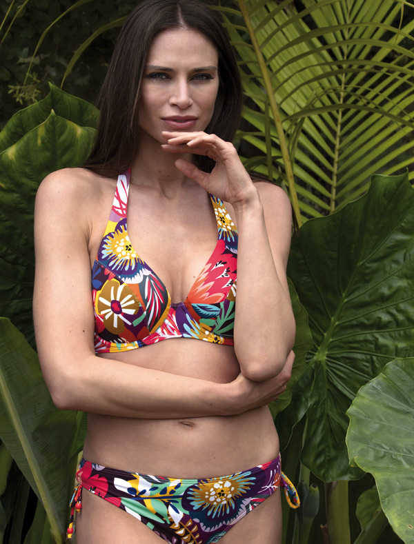 Empreinte 2020 Swimwear - Sun Collection in A lush floral print - featured on Lingerie Briefs