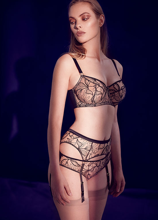 Vivian collection from Katherine Hamilton as featured on Lingerie Briefs