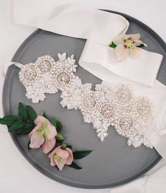 With A Serious Dream bridal accessories as featured on Lingerie Briefs