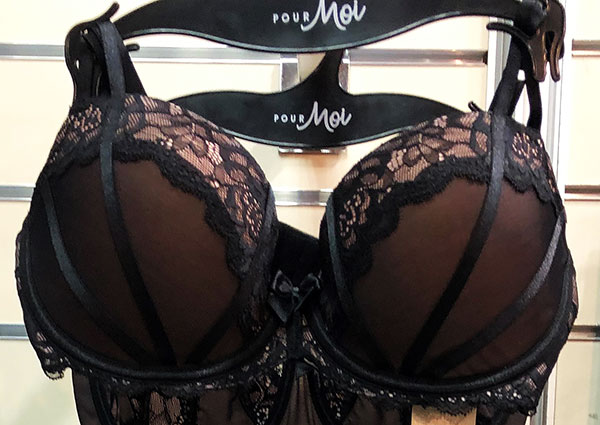 Pour Moi lingerie shown at UK INDX show as seen on Lingerie Briefs