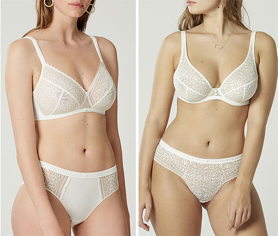 Mandala Collection by Maison Lejaby as featured on Lingerie Briefs