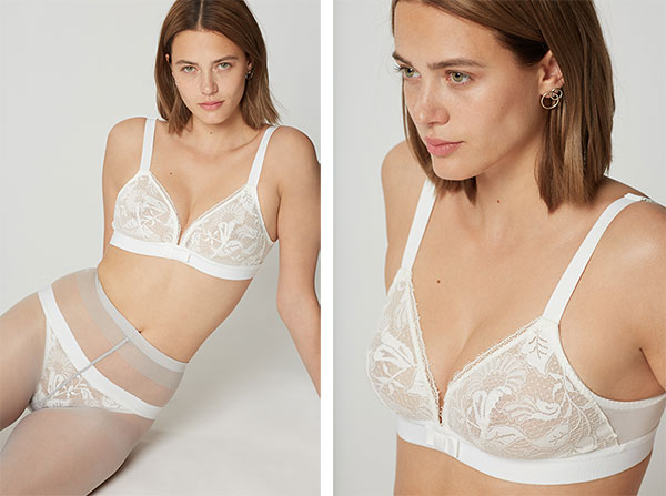 Songe Collection by Maison Lejaby as featured on Lingerie Briefs