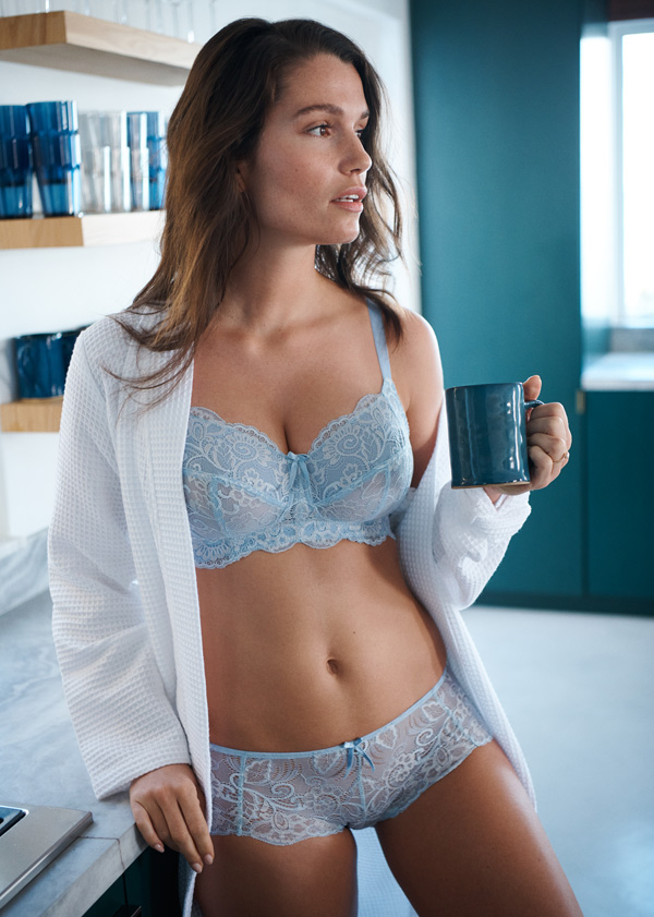 Panache Andorra Non-Wire bra is crafted specifically for the fullest cup customer - featured on Lingerie Briefs