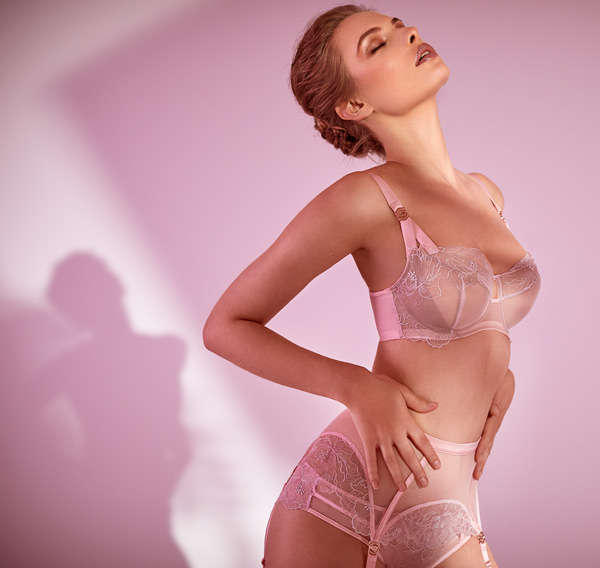 Katherine Hamiliton never-seen-before AW20 styles of Priya collection - featured on Lingerie Briefs